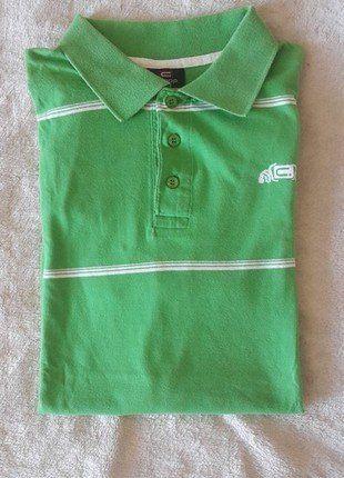 Kup mój przedmiot na #vintedpl http://www.vinted.pl/odziez-meska/koszulki-z-krotkim-rekawem-t-shirty/18493371-zielona-koszulka-polo-krotki-rekaw