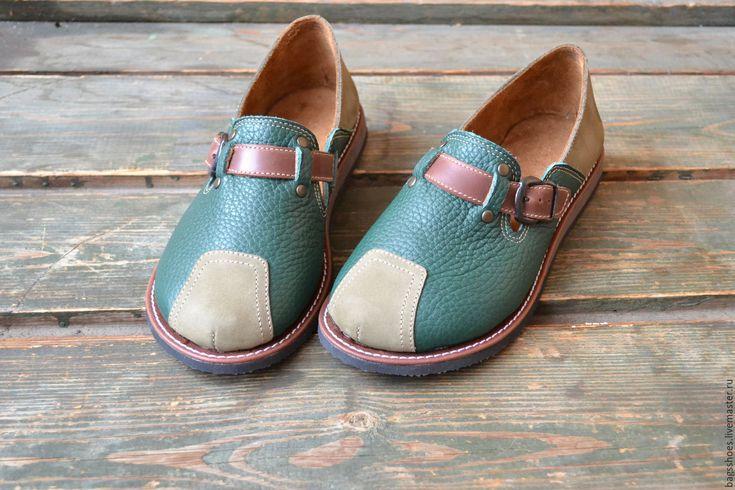 """Купить мокасины """"Фиона """" - туфли женские, туфли ручной работы, лоферы, туфли из кожи"""