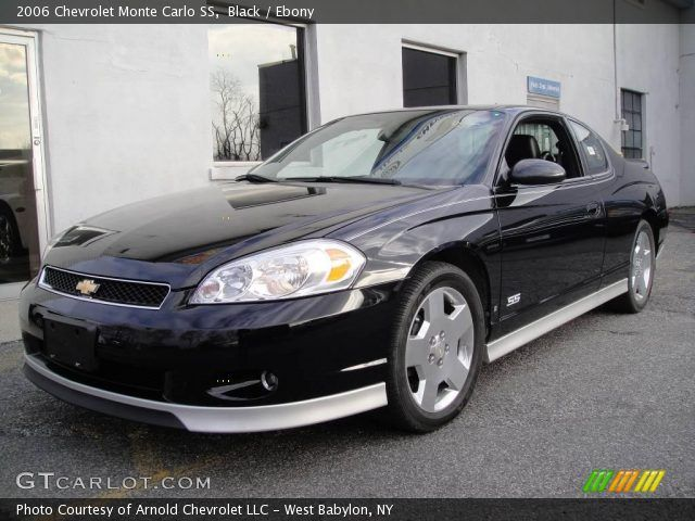 2006 monte carlo ss   2006 Chevrolet Monte Carlo SS in Black. Click to see large photo.