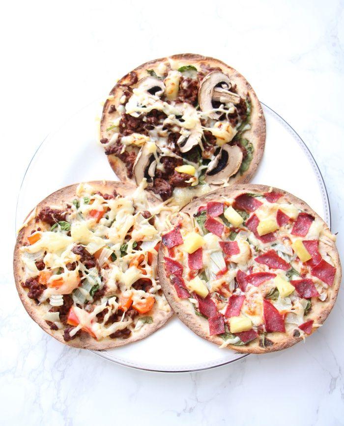 Lompepizza og syk mini | Sunnere Livsstil