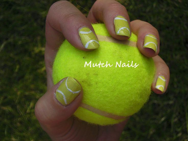 Ball nail art choice image nail art and nail design ideas tennis ball nails nails nail art pinterest nail nail prinsesfo choice image prinsesfo Image collections