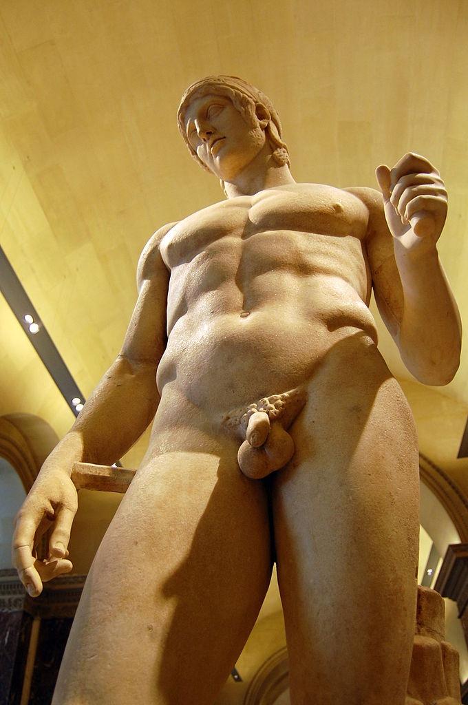 Ares (Mars), Hellenistic statue (marble), 2nd century BC, (Musée du Louvre, Paris).