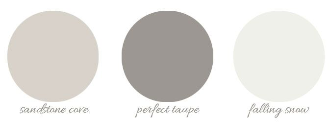 Behr perfect taupe