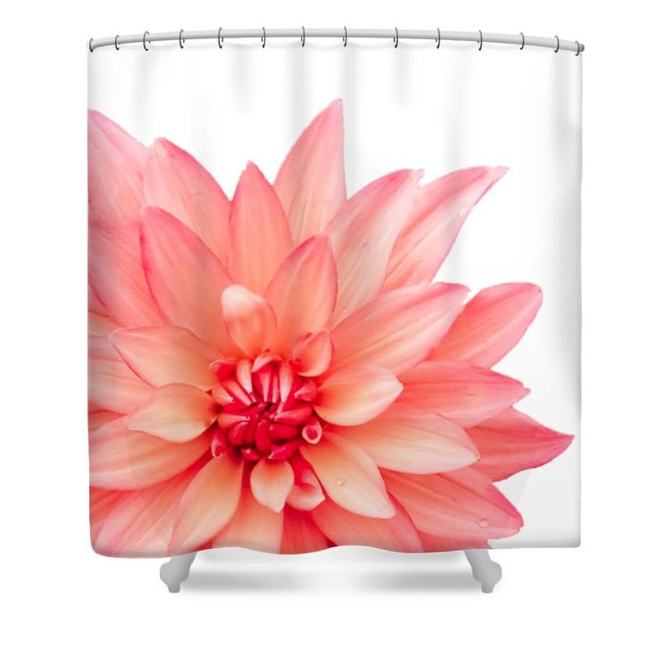 Recommended 11 Stylish Ideas How To Improve Dahlia Shower Curtain For You In 2020 Floral Shower Curtains Unique Shower Curtain Designer Shower Curtains