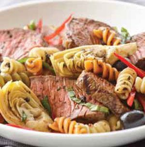 Listen, guys, this is what you're making for dinner on Mother's Day. Use prepared balsamic vinaigrette if you want. It's fine. Just remember to do the dishes.