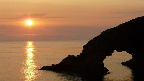 Arco dell'Elefante (Pantelleria - Aeolian Islands)