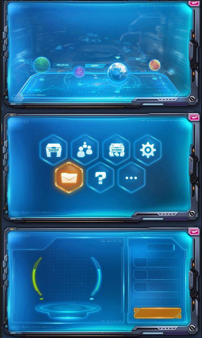 练习|游戏UI|UI|scorpiolu...