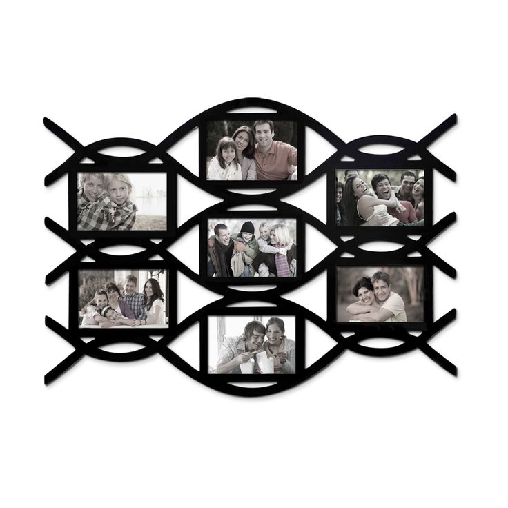 adeco 7opening lace style picture collage frame by adeco - Picture Collages