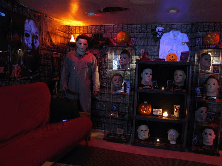 Movie Man Cave Ideas : Horror man cave movie decor pinterest