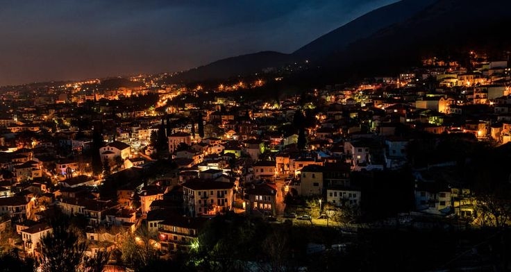 Old city lights by Sotis G on 500px Xanthi north Greece