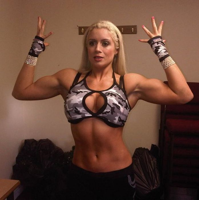 wwe female bodybuilders nude