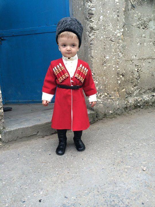 Cute Circassian boy
