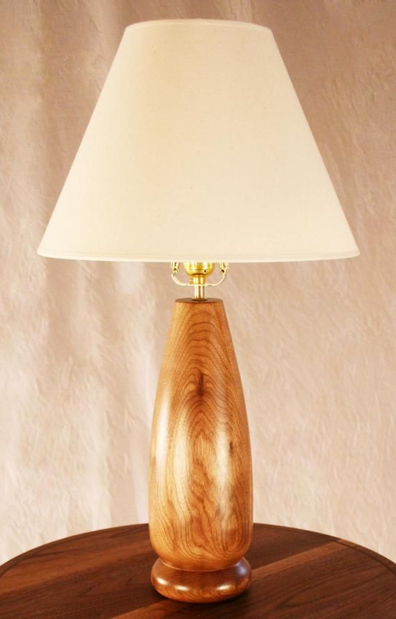 Table Lamp Wood Turning