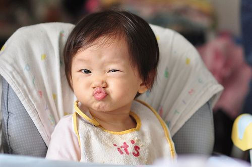 Meg, if you're going to adopt a china baby, adopt this one please! So cute! ;D