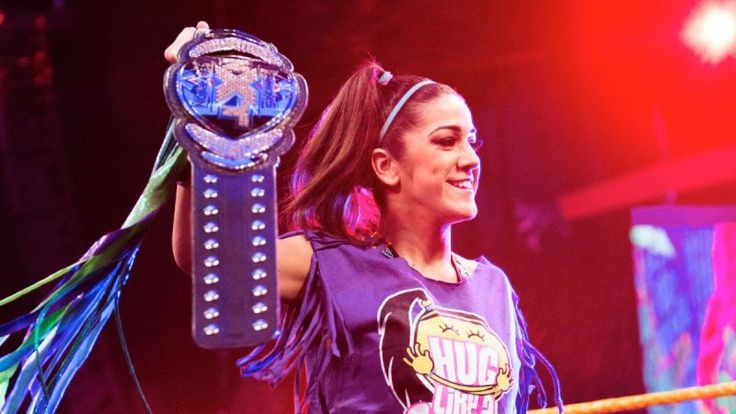 The Future of WWE Is A Women's Wrestler Named Bayley
