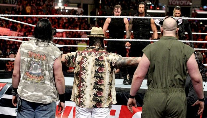 Match Of The Day: The Shield Vs. The Wyatt Family Elimination Chamber 2014 - StillRealToUs.com