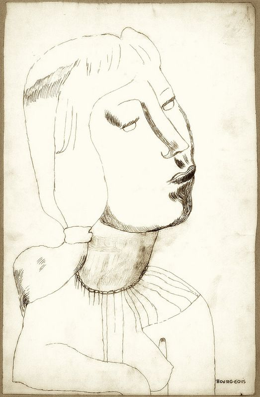 Louise Bourgeois - Self Portrait, 1938
