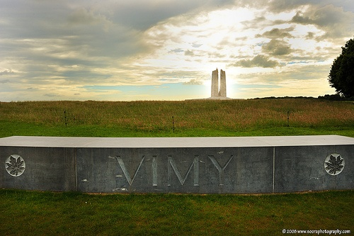 Vimy Ridge - a lonely and monumental WWI site