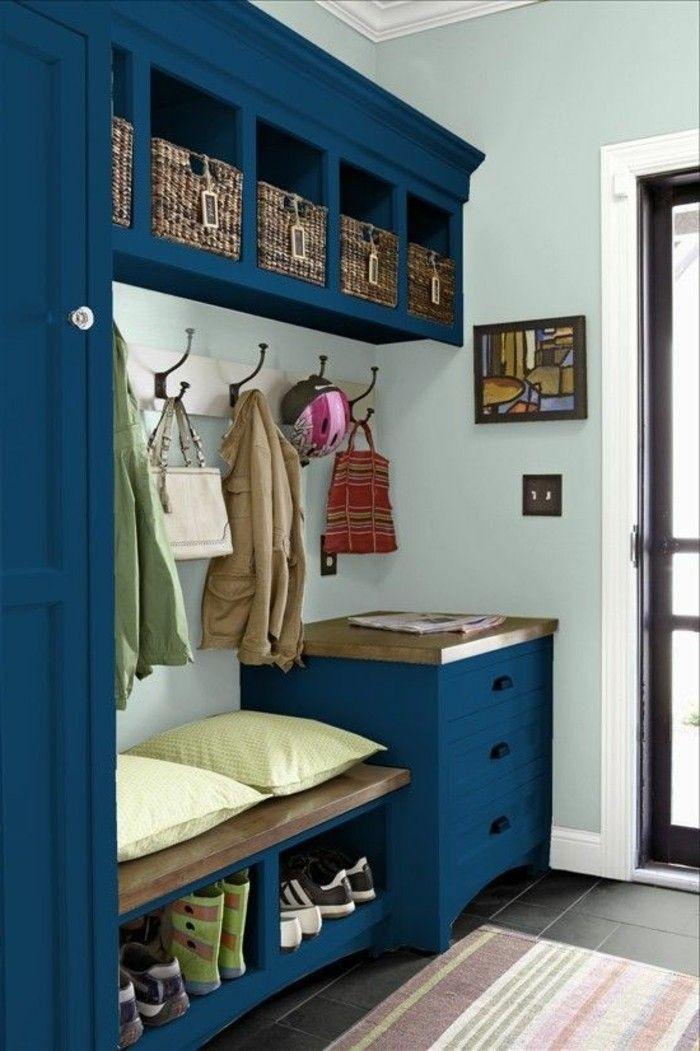 Décorer un couloir - plus de 70 idées en photos pour vous!   Décorer un couloir, Rangement ...