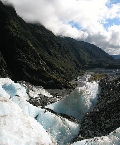 Franz Josef glacier, West Coast, South Island, New Zealand