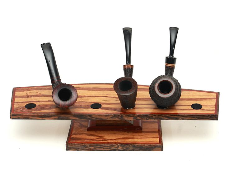 Marble Wood: 6 Pipe Stand