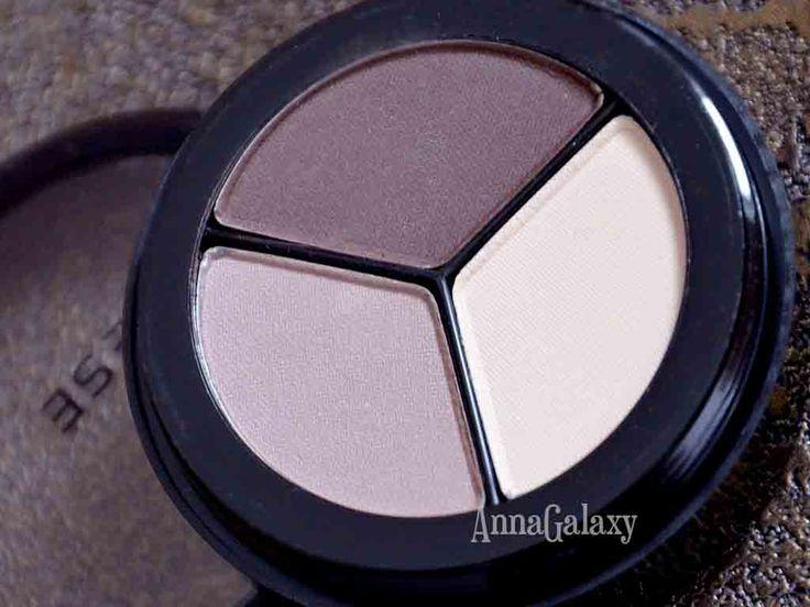 Anna Galaxy: Paese Luxus Matte eyeshadows Тени тройные матовые для век из серии Люкс № 101