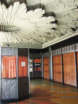 Art Deco ~ interior of the Wiltern Theater built by Morgan, Walls, and Clements in 1930-1931, Los Angeles, CA