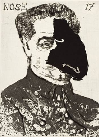 "From the ""Nose"" Series // William Kentridge"