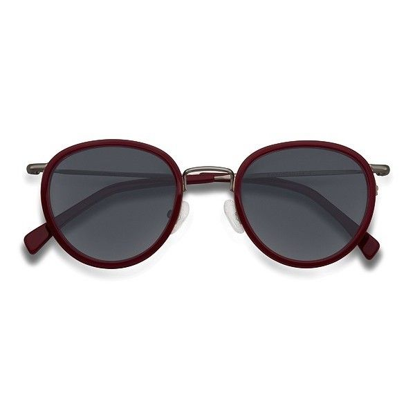 Men's Siena - Red round metal - 15781 Red Rx Sunglasses ($31) ❤ liked on Polyvore featuring men's fashion, men's accessories, men's eyewear, men's sunglasses, mens round sunglasses, mens eyewear and mens sunglasses