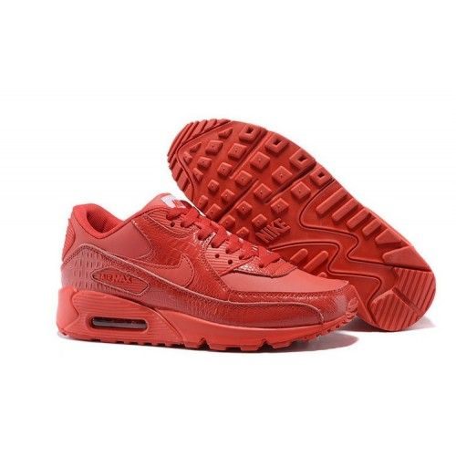 big sale aee4c 6af6c Kjøp Nike Air Max 90 - Billig Dame Nike Air Max 90 Bright Crimson Tilbud