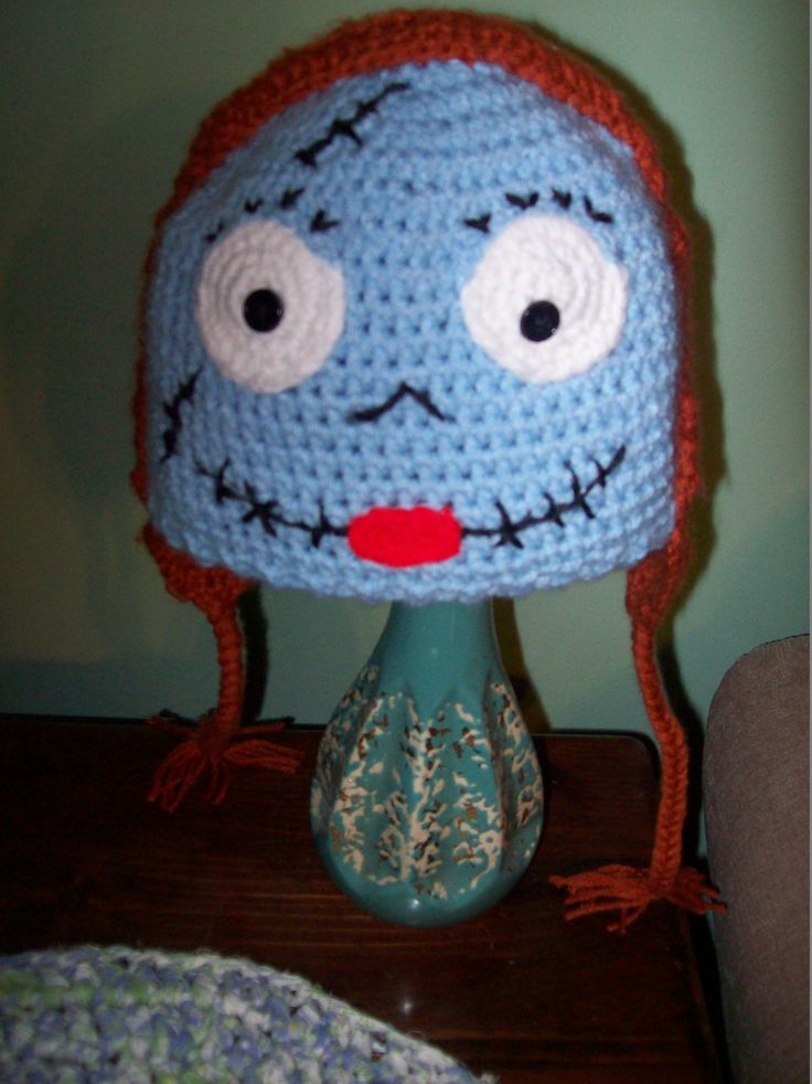 Crochet Patterns Nightmare Before Christmas : ... images about Hats on Pinterest Beanie hats, Free pattern and Fox hat