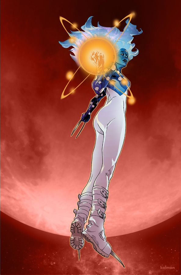 X-23 - Captain Universe by Kalman Andrasofszky * one of the best comics ever written.