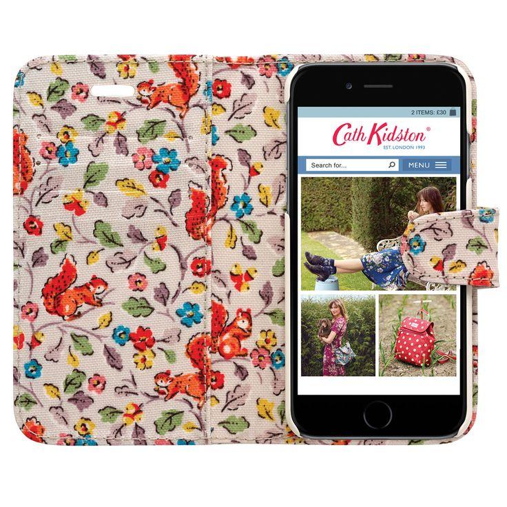Squirrels iPhone 6 Case with Card Holder | Squirrels | CathKidston