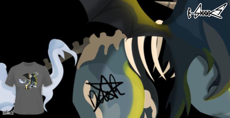 T-shirts - Design: Death horse - by: DemiSaurus Rex