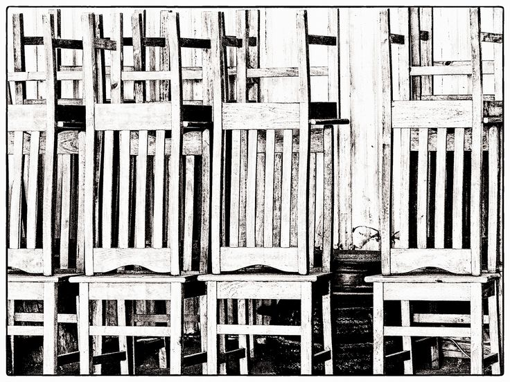 https://flic.kr/p/WhKZNX | Stack o' Chairs | I spotted these chairs in a hangar at Krugersdorp Aerodrome and thought they made an interesting composition. I also pushed the sliders around a bit more than I normally do to create this effect.