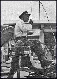 Mersin 1950 ler Mersin faytoncusu..