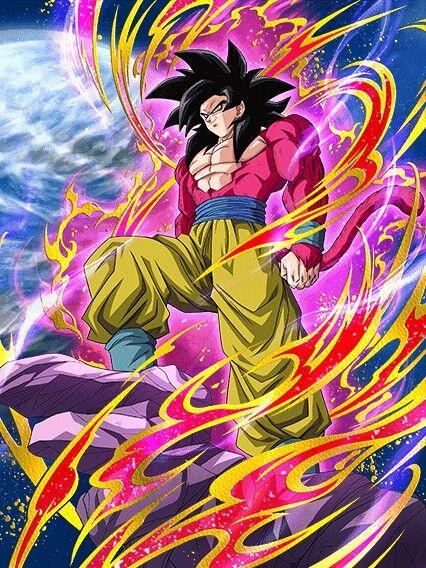 Goku ssj 4