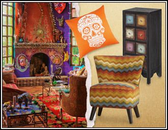 Dia de los Muertos Decor Inspired by Mexico's Day of the Dead A colorful celebration of those who have passed on, the Day of the Dead brings...