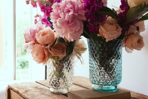 Hurricane Vase Perfect Wedding Centerpiece  by WeddingBoxWhatNots