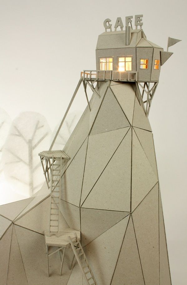 Artists Uses Cardboard To Create Whimsical Scenes, Fun Stop-Motion Animation - DesignTAXI.com