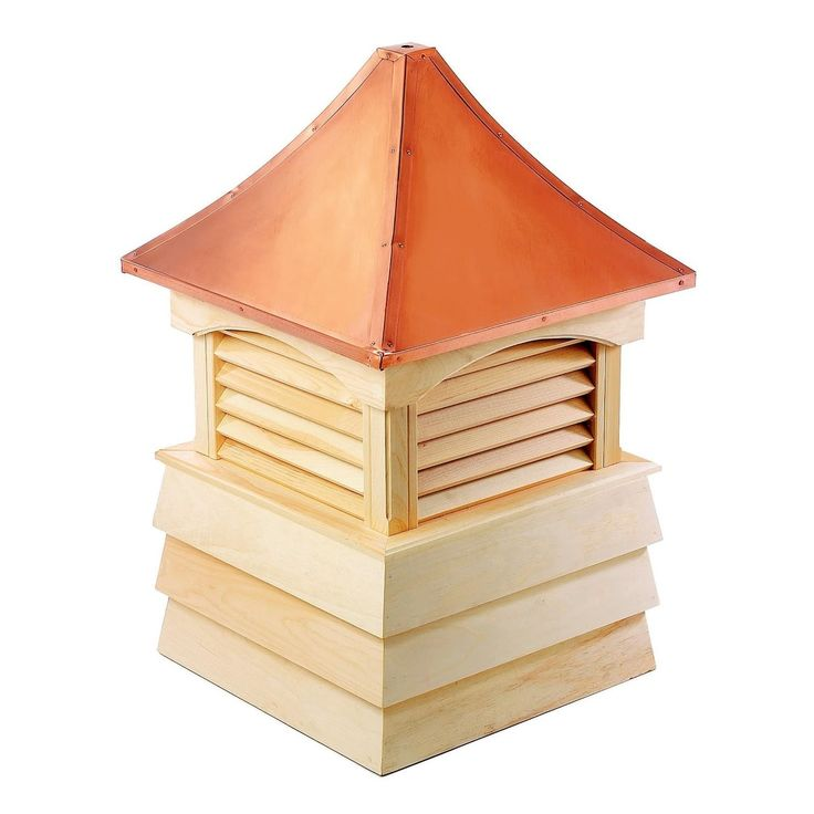 Best 107 Handcrafted Sherwood Copper Roof Wooden Cupola 400 x 300
