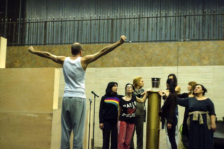 directing Lysistrata