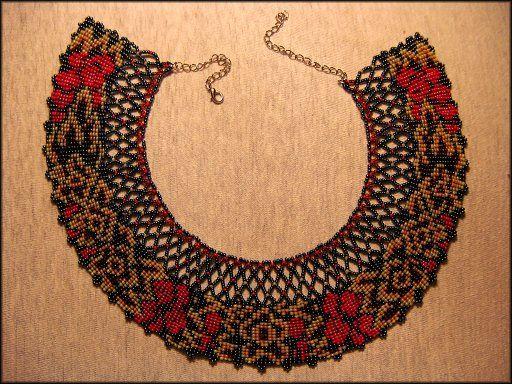 ожерелье   biser.info - всё о бисере и бисерном творчестве