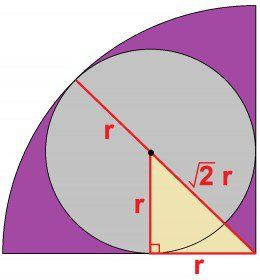 best geometry problems ideas basic geometry  circles inscribed in squares 7 hard geometry problems solutions
