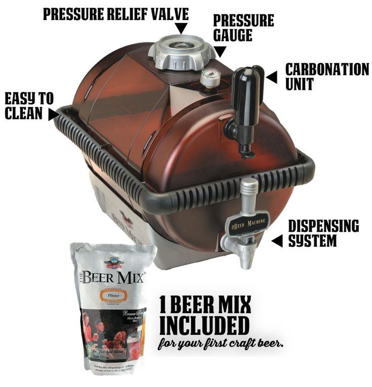The Beer Machine- Home brewing, Beer Kits, Beer Brewing Supplies