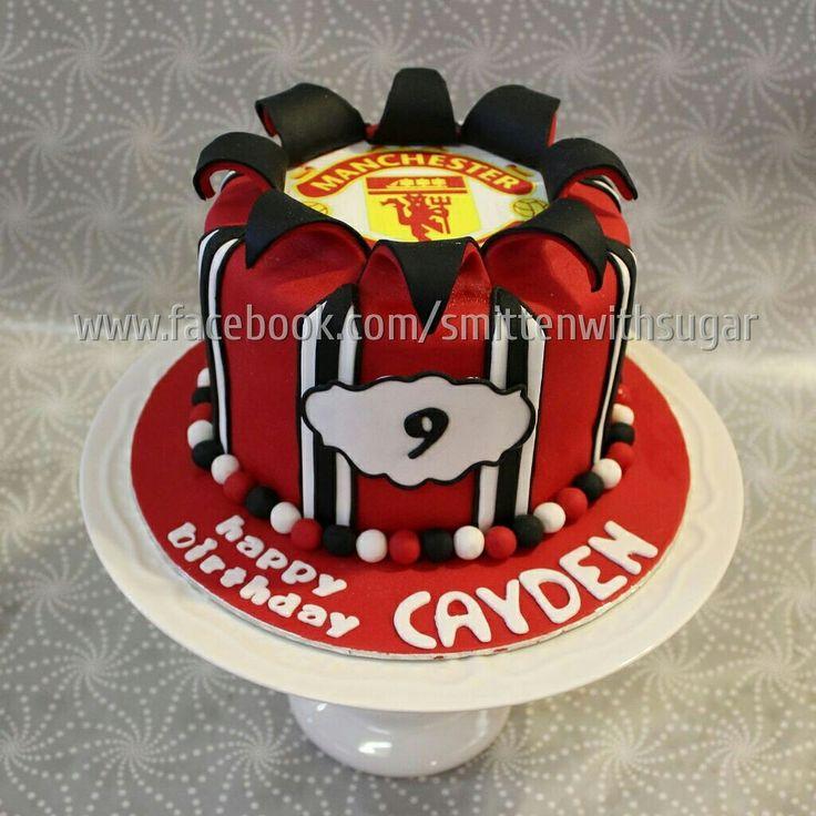 Best 25+ Manchester United Cake Ideas On Pinterest