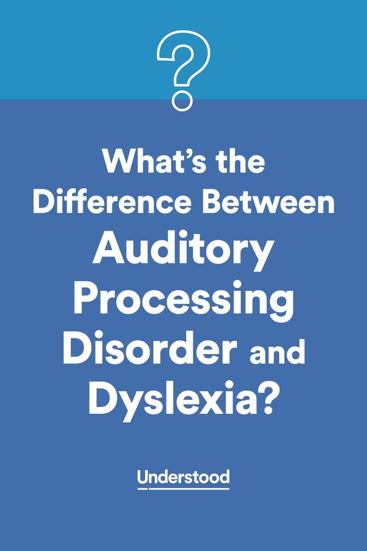 The difference between #dyslexia and auditory processing disorder #APD
