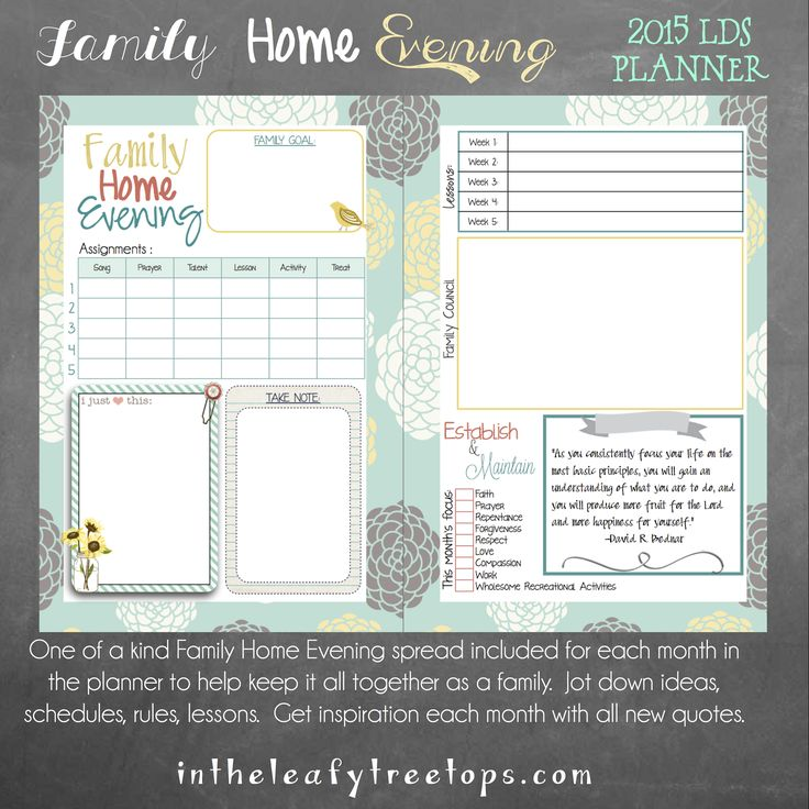 Lds Quotes On Family Home Evening: 269 Best Images About Mormon Mom Planner On Pinterest
