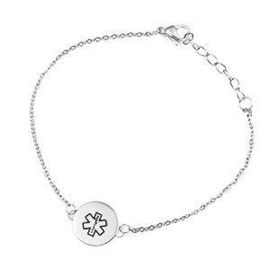 Round Riley Medical ID Bracelets for Women