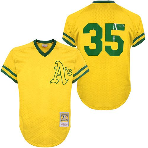 ... Oakland Athletics Rickey Henderson Authentic 1981 BP by Mitchell Ness -  MLB.com Shop ... c57eb95b1